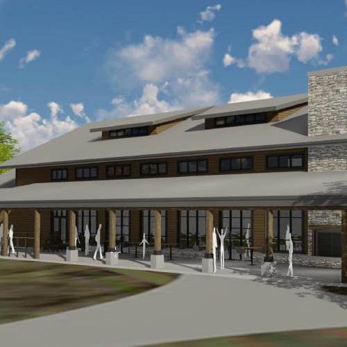 Camp Red Cedar Held Groundbreaking Ceremony for New Activity Center